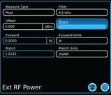 8800 External Precision Thru-Line Meter Option - Software Key Installed