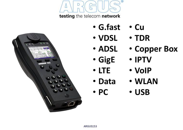 G.fast & xDSL Tester