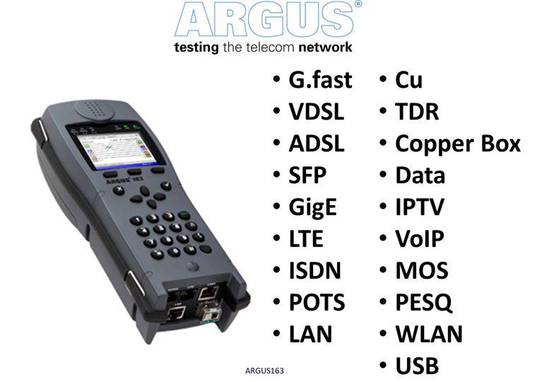 VDSL + ADSL Combi-tester