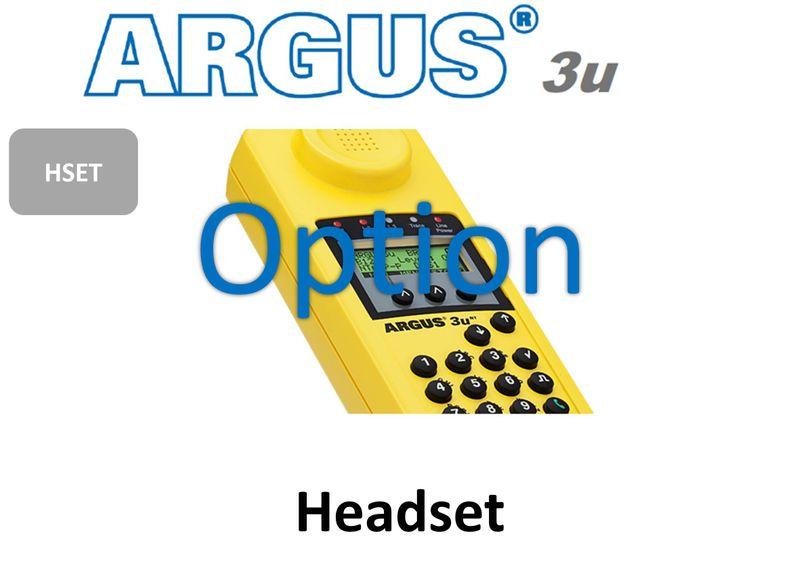 ARGUS3u Head Set