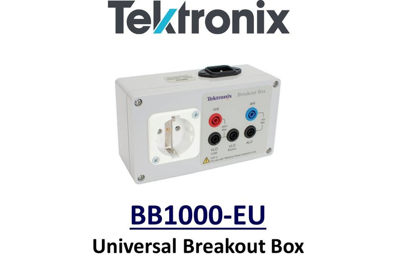 BREAKOUT BOX WITH EUROPEAN POWER RECEPTACLE