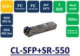 SFP+ MMF, 850NM, 10G, 550M