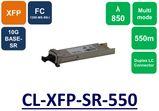 XFP, MMF, 850NM, 10G, LC, 550M