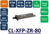 XFP, SMF,1550NM, 10G, LC, 80KM