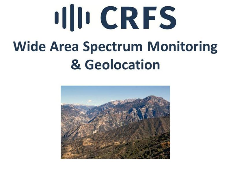 Learn More about CRFS Spectrum Monitoring & Geolocation Solutions