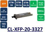 XFP,SMF, WDM, BIDI, 1330/1270NM,10G, DDM, 20KM