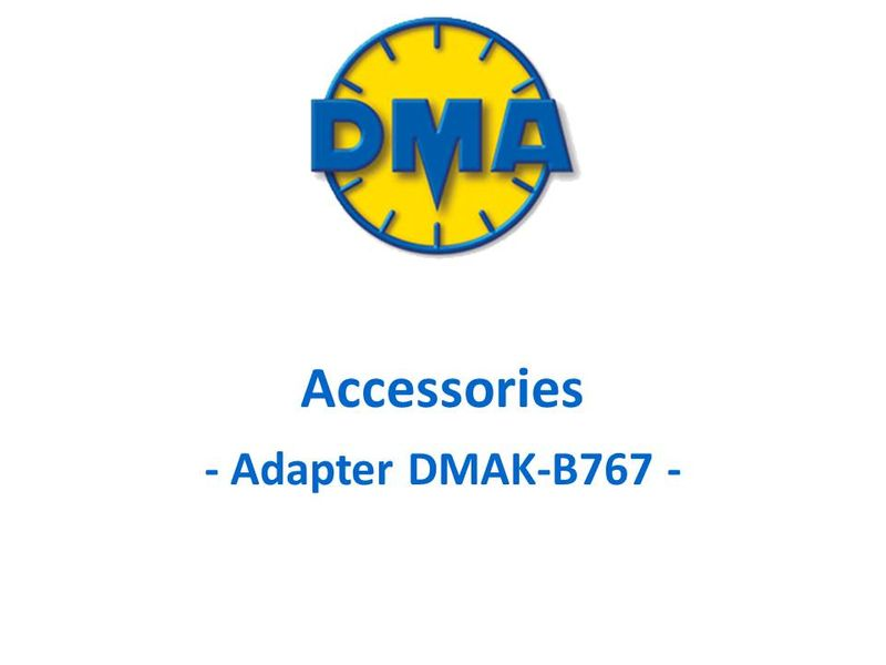 DMA adapter kit for Boeing B767
