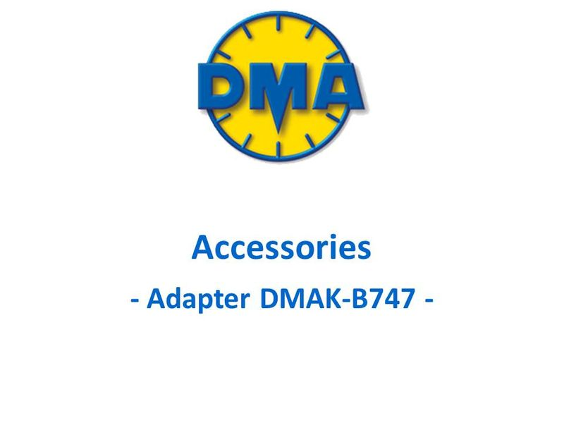 DMA adapter kit for Boeing B747