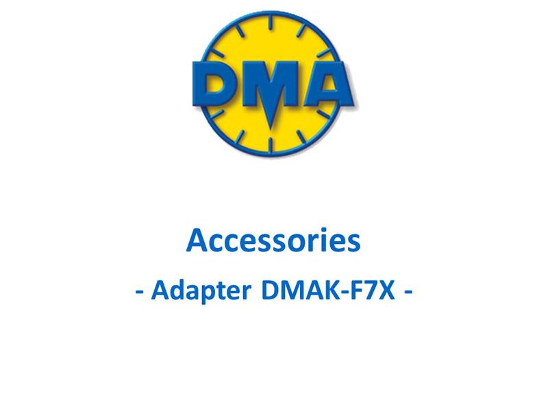 DMA adapter kit for Dassault F7X, F8X