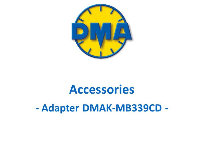 DMA adapter kit for Aermacchi MB339