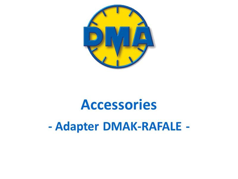 DMA adapter kit for Dassault Rafale