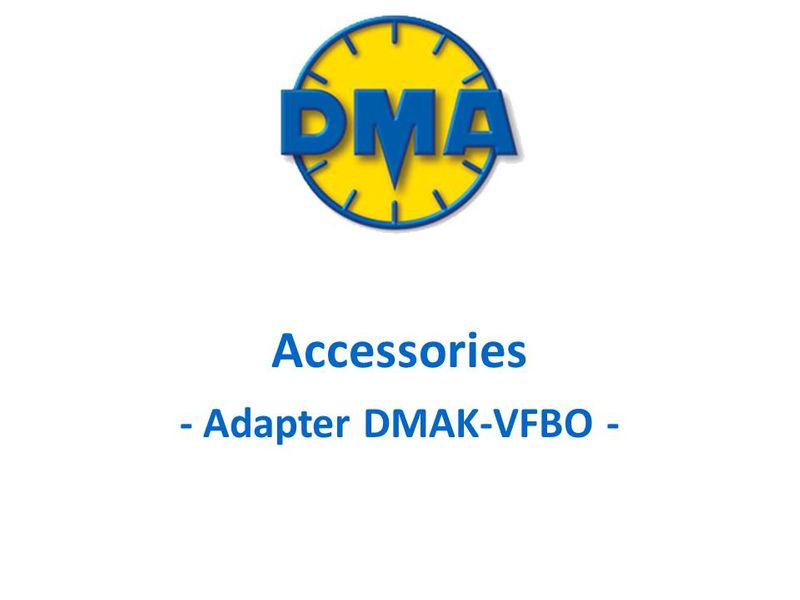 DMA adapter kit for Mix, Sample