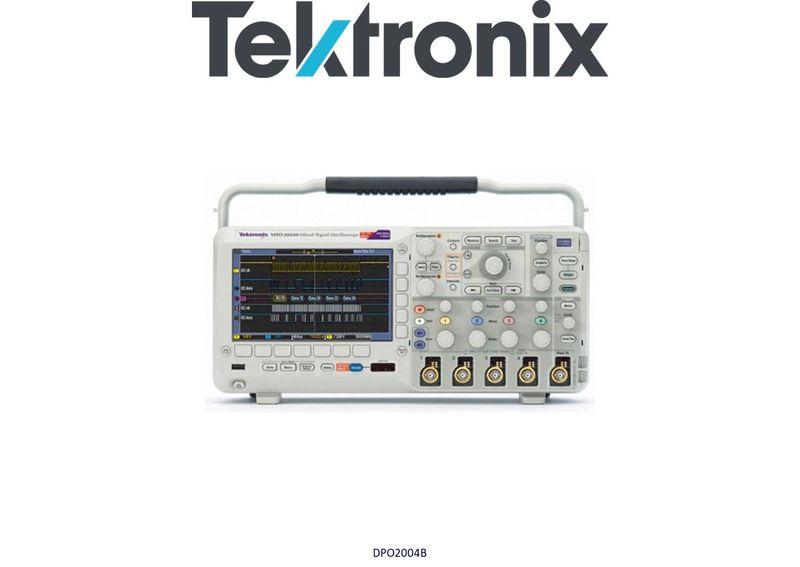 Tektronix DPO2004B Digtal Phosphor Oscilloscope, 70MHz, 4 Analog Chans