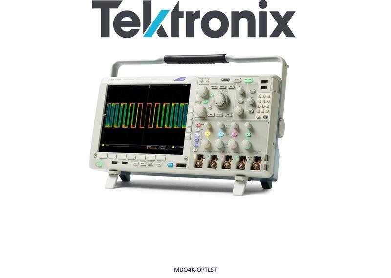 Options for MDO4000 Series oscilloscopes