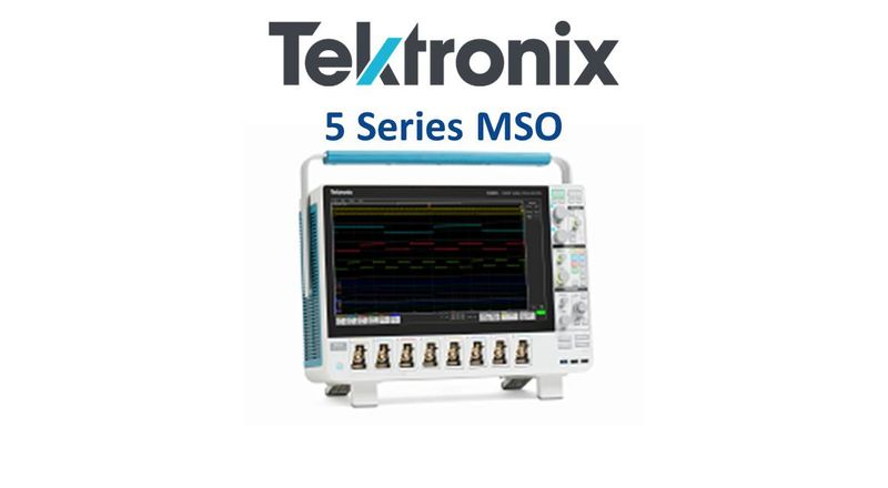 Learn more about the Tektronix 5-Series MSO Mixed Signal Oscilloscope