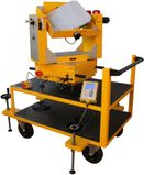 3-axis tilt table for gyroscopic testing, Independent control of 3 angles and 3 speeds
