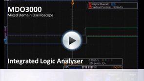 MDO3000 App Demo - Integrated Logic Analyser