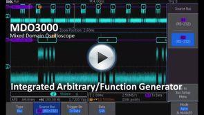 MDO3000 App Demo - Integrated AFG