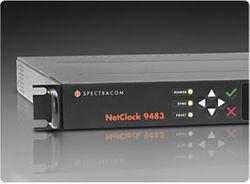 Spectracom Netclock 9483 Public Safety Master Clock