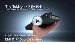 RSA306 App Demo - EMI & RF Spur Searching