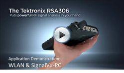 RSA306 App Demo - WLAN & SignalVu-PC