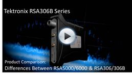 RSA306B Differences from RSA5000/6000