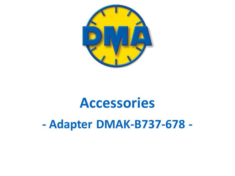 DMA adapter kit for Boeing 737 new generation