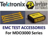 EMC Test Accessories for use with MDO3000 Series oscilloscopes
