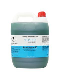 VIRTUE SANICLEAN 60 SURFACE SANI 5L