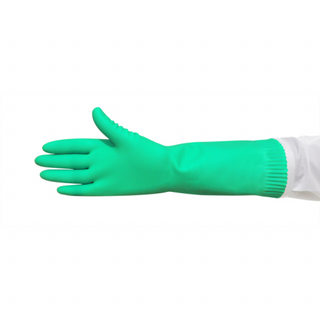 GREEN PREM S/LINED SMALL RUBBER GLOVE