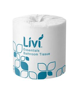 LIVI ESSENTIALS 2PLY 400SH TOILET PAPER