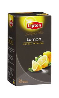 LIPTONS ENVELOPE TEA 25'S LEMON INFUSION