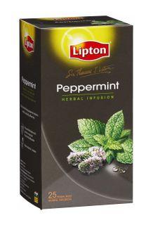LIPTONS ENVELOPE TEA PEPPERMINT X25