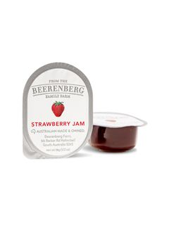 S/S STRAWBERRY JAM 14GM X 48 B/BERG