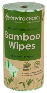 ENVIROCHOICE BAMBOO ROLL WIPES