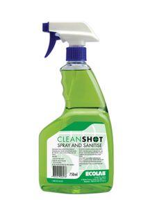 CLEANSHOT SPRAY & SANITISER 750ML