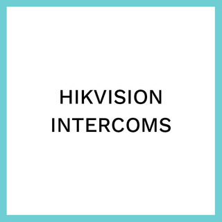 Hikvision intercoms