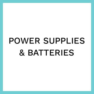 Power Supplies & Batteries
