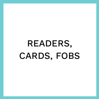 Readers, cards, fobs