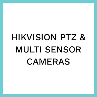 Hikvision PTZ & Multi Sensor Cameras