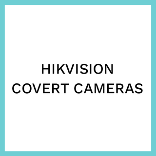 Hikvision covert cameras