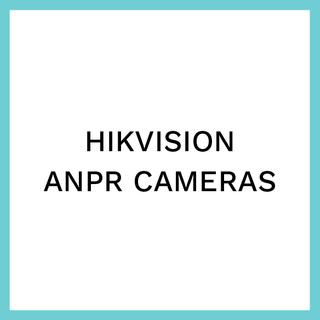 Hikvision ANPR cameras