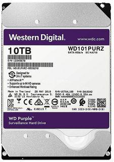 WESTERN DIGITAL WD101PURZ Purple 10TB HDD