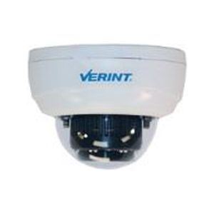 Verint V4530 3mp 100db WDR Indoor Dome camera, Day/Night with 3-9mm lens, auto-focus, 3x motorized zoom, P-Iris & built in IR illuminator. 12VDC,  Class 0 PoE. Power supply not included.