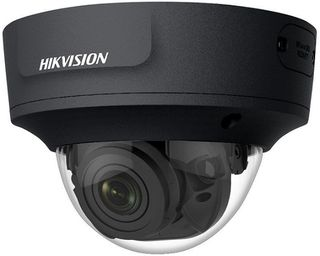 HIKVISION Dome, 6MP, 2.8-12mm, IR, BNC Output, Pigtail, BLACK (2765)