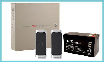 4 Door Controller Kit, 2 x Mifare Reader, 1 x Battery (BAT09)