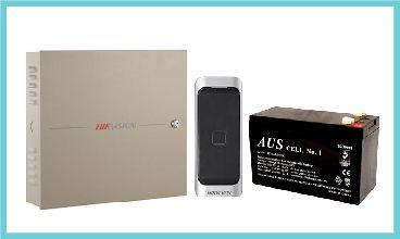 2 Door Controller Kit, 1 x Mifare Reader, 1 x Battery (BAT09)
