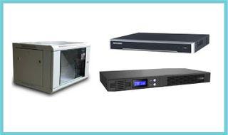 4CH NVR, 6RU 450 Deep Rack, ION-F15R-650 UPS