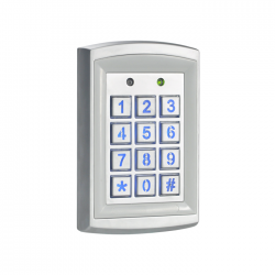 PRESCO 4x3 Vandal Reistant Outdoor Keypad, Backlit, 12-24VDC, Presco/Weigand