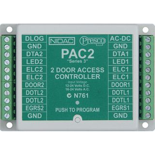 PRESCO Two Door Access Controller, 800 Users